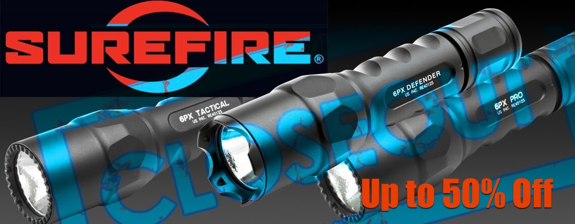 surefire flashlight closeout sale